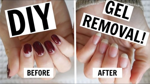 At-Home Gel Manicure Removal / NO FOILS, NO DAMAGE! - YouTube