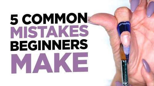 5 Mistakes Beginner Nail Professionals Make & How to Fix Them - YouTube