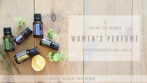 DIY WOMEN'S PERFUME USING ESSENTIAL OILS - YouTube