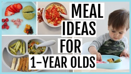 What My Toddler Eats in a Week   1-YEAR-OLD MEAL IDEAS - YouTube