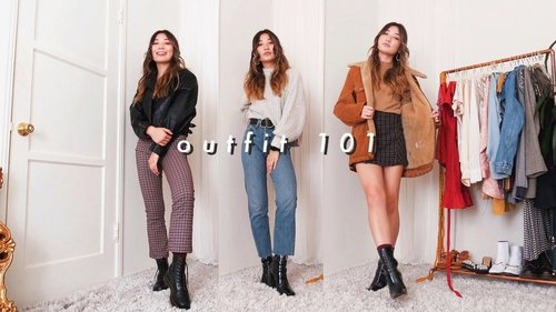 how to put together an outfit 101 - YouTube