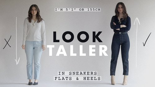 HOW TO LOOK TALLER: Outfit Ideas For Petites Ep. 7 - YouTube