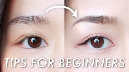 Eyebrow Shaping at Home | Easy Beginner Tutorial - YouTube