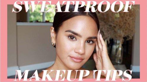 Sweatproof Makeup Tips - YouTube