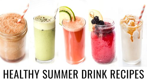 5 SUMMER DRINK RECIPES YOU NEED TO TRY! | healthy & veganYouTube