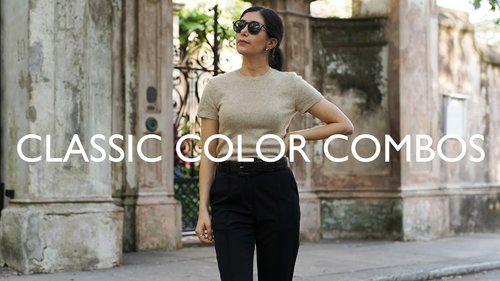Classic Color Combinations That Always Look Chic - YouTube