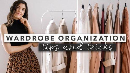 Fashion Basics: How to Organize Your Wardrobe | by Erin Elizabeth - YouTube
