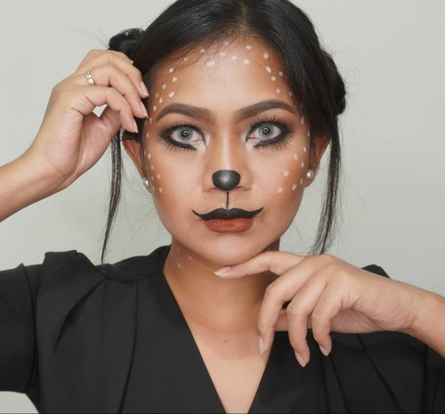 #BringOuTheBooDicoba - coba ternyata bisa hihihihi, jd penasaran pgn coba look lain. Ahhhhh, pak suami, aku butuh face painting segeraaaa.Product@nyxcosmetics_indonesiaJEP - Milk LOVE bangetStaymatte Not Flat - PowderCan't Stop Won't Stop - FoundieSoftlens X2 Bio Glaze - Na AzulLashes @loreca.lashes yg Camelia, 2 layer, cakeppp bangetttt.Bottom lash @makeupuccino yg Anjani.#helloween #nyxcosmetics #halloweenmakeup #clozette #clozetteid #halloween2019 #bandungbeautyblogger