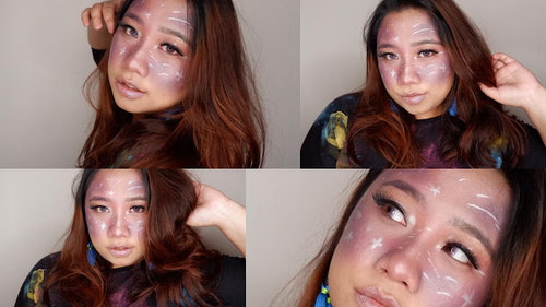 Reginapit: Galaxy Makeup Tutorial
