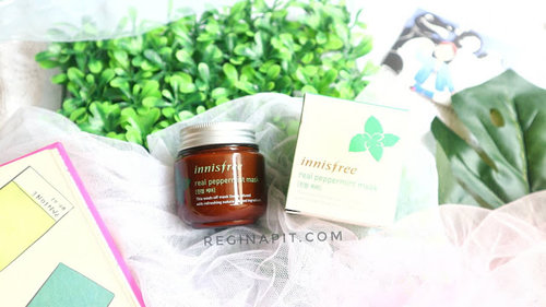 REGINAPIT: Review Innisfree Real Peppermint Mask