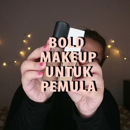 BOLD MAKEUP UNTUK PEMULA _🐧 gampang nih! .Hayo tebak makeup ini ada di Pass The Brush Challenge aku yang mana? 😂...🌈 @maybelline Stay Matte Foundation🌈 @lagirlindonesia Foundation🌈 @fanbocosmetics Powder🌈 @absolutenewyork_id Strobing & Shading Palette , Lip Cream 🌈 @madame.gie Blush🌈 @makeuprevolution I Heart Palette🌈 @blinkcharm Fake Lashes🌈 @sulamitcosmetics Eyebrow Pencil 🌈 @bursasoftlen Matake - Grey .... ..#reginapittutorial#reginapitcom #bvlogger #bvloggerid #indobeautygram #Clozetteid  #indonesiababe  #sbybeautyblogger  #beautiesquad #IVGBeauty #indovidgram #indovlogger #setterspace #kbbvfeatured #beautybloggerindonesia