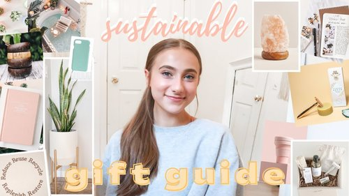 sustainable holiday gift guide (15+ eco-friendly gift ideas) - YouTube