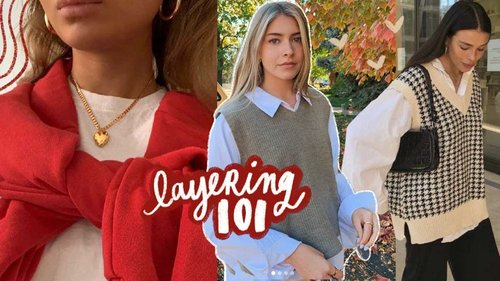 layering 101: make your clothes cuter!! - YouTube