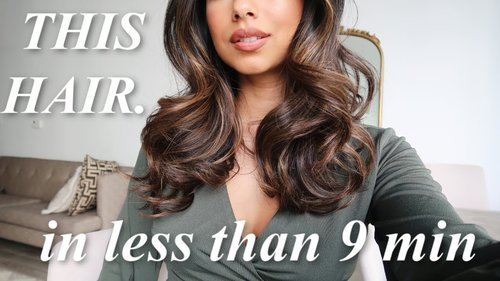 How to: BIG, Sexy Curls in less than 10 min! - YouTube