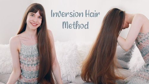 INVERSION HAIR METHOD: How To & My Results (Hair Growth Technique) - YouTube