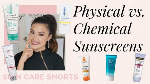(REUPLOAD DRAMA EXPLAINED) Difference Between Physical and Chemical Sunscreens Skincare Shorts - YouTube