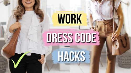 Work Styling Tips Every Short Girl Must Know! Real Career Advice! - YouTube