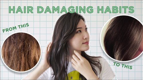 😱Hair Damaging Habits You're Doing EVERY DAY! • Simple Tips No One Tells You - YouTube
