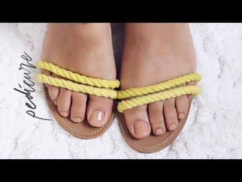 DIY PEDICURE AT HOME STEP BY STEP| FOR ROUGH DRY FEET!!! - YouTube