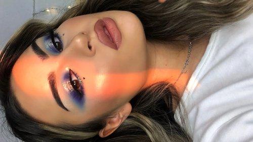 Blue Fantasy Makeup Tutorial I Aylin Melisa - YouTube