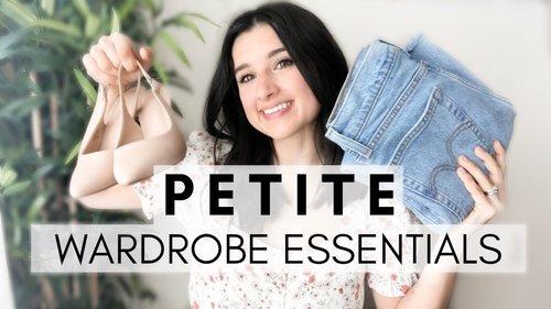 PETITE Wardrobe Essentials! / Essentials Every Petite NEEDS! / Petite Style Tips - YouTube
