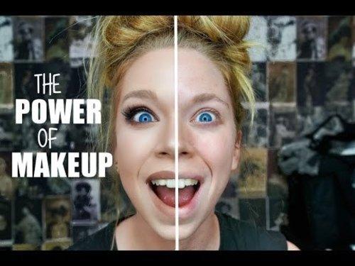THE POWER OF MAKEUP   GRAV3YARDGIRL - YouTube