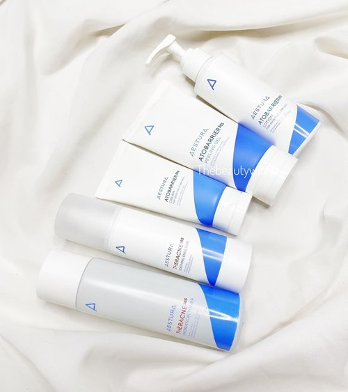 𝐀𝐄𝐒𝐓𝐔𝐑𝐀  Honestly the beeeest-est skin barrier products I have tried by far ( versi aku loh ya ) The formula is amazingly nice and mild , definitely the first thing I reach out to when skin is acting up. It soothes n hydrates on its right portion, and has no scent whatsoever definitely a recommencation for those with sensitive skin as well.  I wont write a long caption of each products  because I have made individual post of them, so hop yer ass by #tbwAestura . . Ini brand menurutku masih quite rare disini, tapi ada komplit di Charis Shop akohhh tentunya dengan potongan harga (link in bio) . .  #beautygoersid #instamakeup  #makeuptutorial  #beautyenthusiast  #100daymakeupchallenge #makeupfeed #unleashyourinnerartist #creativemakeup  #makeuptutorial @setterspace @tampilcantik  @cchanel_beauty_id @tips_kecantikan  @popbela_com  #makeuplooks #wakeupandmakeup #clozzeteid #sigmabrush #clozetteid #slave2beauty #wake2slay #eyeshadowtutorial  #amrezyshoutouts #undiscovered_muas #inssta_makeup #makeupaddict #featuremuas #morphebabe #beautyunderyourinfluencer
