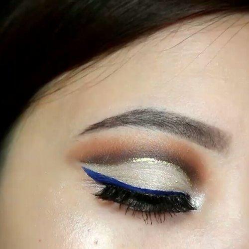 LOCAL PRODUCTS ALERT ☀ @mybeautystoryid Happily Ever After Palette, Truely mattely blue eyeliner, Brilliant Liquid eyeliner Gold, eyebrow micro matic @ruvvlash Vivian @iamaddicted lash curler . . #clozetteid #beautybloggerindonesia #eyeshot  #makeupvideo #eyemakeuptutorial #ivgbeauty #anatasiabeverlyhills #eyeshadowtutorial #eotd #beautyblogger #indobeautygram #cutcrease #morphebrushes  #undiscovered_muas #beautycommunity #wakeupandmakeup #fiercesociety #morphebabe #koreanmakeup #koreaneyeshadow #sigmabeauty #flawlesssdolls #cutcreasetutorial . .