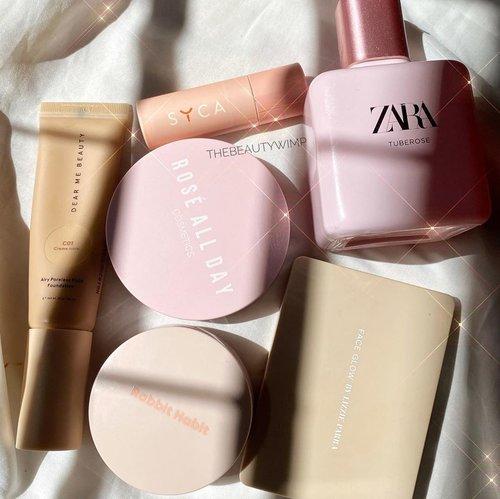 Beige - Pastel Pink ✨✨  Weapons for the no-makeup makeup look by locals (kecuali parfume ga lokal)  ((Tap for deets))  . . . .   #beautygoersid #instamakeup  #makeuptutorial  #beautyenthusiast  #100daymakeupchallenge #makeupfeed #unleashyourinnerartist #creativemakeup  #makeuptutorial @setterspace @tampilcantik @tiktokofficialindonesia @cchanel_beauty_id @tips_kecantikan  @popbela_com  #makeuplooks #wakeupandmakeup #clozzeteid #sigmabrush #clozetteid #slave2beauty #wake2slay  #amrezyshoutouts #tiktokindonesia #undiscovered_muas #inssta_makeup #berbagiskill #tiktokindonesia #tiktok #samasamadirumah 