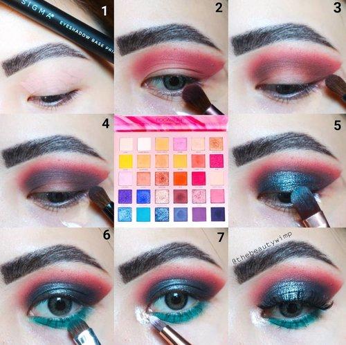I'M BACKKKKKKKKK 👀👀👀___________________After a month of eotd hiatus im starting it off with @focallurebeauty Endless Possibilities Palette(It speaks to its name, this palette is utterly versatile!)Super blendable, pigmentation is top notch. Hands down! .Eyebase @sigmabeauty PersuadeBrushes @ecotools @masamishouko @bhcosmetics...Palette credit : @lia.lio😂👌♥️ Kamsiaaaa pinjemane..#makeupfeed #unleashyourinnerartist #creativemakeup #eyelooks #makeuptutorial #makeuplooks #wakeupandmakeup #clozzeteid #sigmabrush #clozetteid #slave2beauty #wake2slay #eyeshadowtutorial #focallure #amrezyshoutouts #undiscovered_muas #inssta_makeup #makeupaddict #featuremuas #morphebabe #beautyunderyourinfluencer #focallureeyeshadow