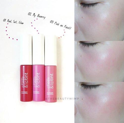 @wardahbeauty as cheek blush. Urutan fotonya kebalik ya maapkeun, nomer 1 (red set glow) yang paling bawah 😁 Untuk lip swatch bisa lihat foto sebelum ini ya 🔙🔙🔙🔙 Got mine from @mimusimmi  @mimusimmi  @mimusimmi . . #wardaheverydaycheekandliptint #wardahbeauty #liptintlokal #clozetteid #FDbeauty #beautyjournal #makeupflatlay #makeupdolls #beautyblogger #makeuphaul #makeupporn #instabeauty  #instamakeup #beautyreview #makeupreview #beautybloggerid #slaytheflatlay  #beautyjunkie  #instablogger #makeupblogger #beautybloggerindonesia #koreanliptint .
