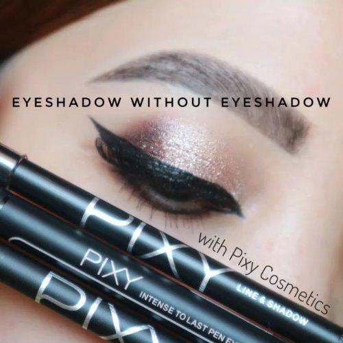 "APA PRODUK FAVORIT KAMOH DARI PIXY ? COBA KASIH TAU BUNDAAH ..Jadi ini tutorial ""eyeshadow tanpa eyeshadow"" karena kalian gak perlu eyeshadow sama sekali to achieve this look.Semua produk dari @pixycosmetics - Pixy Line & Shadow - Pixy Intense to Last Eyeliner (Tip nya gak terlalu letoy atau kaku, jadi pas enak bgt buat winged liner jadi cepeet)𝐀𝐍𝐓𝐈 𝐒𝐌𝐔𝐃𝐆𝐄𝐃 𝐒𝐄𝐌𝐔𝐀𝐀 𝐉𝐀𝐍𝐆𝐀𝐍 𝐓𝐀𝐊𝐔𝐓 🙅...#makeupfeed #unleashyourinnerartist #creativemakeup #eyelooks #makeuptutorial #makeuplooks #wakeupandmakeup #sigmabrush #clozetteid #slave2beauty #wake2slay #eyeshadowtutorial #bcgirls #amrezyshoutouts #undiscovered_muas #PixyCosmetics #inssta_makeup #makeupaddict #featuremuas #beautycreations #beautyunderyourinfluencer"