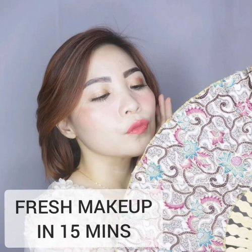 Lu Yiping mau nge-mall dulu, dandan nya cepet tapi tetep gloweeeng dan fresssh kl diliat tu ehek. Bisa banget 15 menit kelar, asal gak disambi lipsync wkwk --- Deets @justmiss eyebrow @makeover demi matte cushion @luxcrime duo lipcare as blush 👌 #luxcrime highlighter @thebathbox eyeshadow liquid in Kavi @getthelookid loreal rouge signature I Choose . . . . #beautygoersid #instamakeup  #makeuptutorial  #beautyenthusiast  #100daymakeupchallenge #makeupfeed #unleashyourinnerartist #creativemakeup  #makeuptutorial @setterspace @tampilcantik  @cchanel_beauty_id @tips_kecantikan  @popbela_com  #makeuplooks #wakeupandmakeup #clozzeteid #sigmabrush #clozetteid #slave2beauty #wake2slay #eyeshadowtutorial  #amrezyshoutouts #undiscovered_muas #inssta_makeup #makeupaddict #featuremuas #morphebabe #beautyunderyourinfluencer