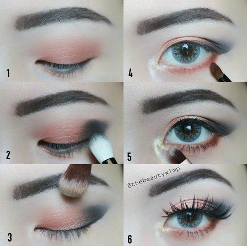 [LOCAL PRODUCTS] Easy Rose Gold . Brows @justmiss_id @luxcrime_id Golden Eyes Palette Agni ( as seen on no. 1 & no. 4) +Drupadi (as seen on no.5) on inner corner @inezcosmetics Vienna (ambil black nya aja) @lashnatic falsies tipe Jade @x2softlens . . . . . . . . #picturetutorial #luxcrimegoldeneyes #instabeauty #makeupmafia #clozzeteid #fotdibb #featuredibb #instamakeup #undiscovered_muas #lashesonfleek #makeupjunkie #motd #makeupfeed #eotd #potdindo #motdindo #FDbeauty #instablogger#ivgbeauty #eyeshadowtutorial #eyelinertutorial #caradandan #eotdindo #clozetteid #beautybloggerindonesia #eyeshot #eyemakeuptutorial #stepbystep . .