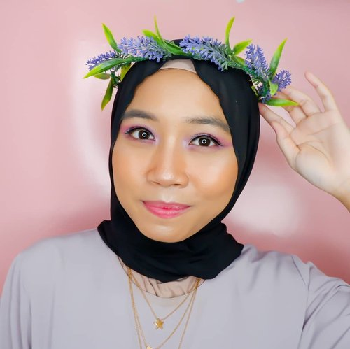 🏵 Lavender • Lavandula 🏵 Twinning with my ultimate bias @oohsehun 😍. . . Detail makeup :  @catrice.cosmetics Prime and Shine Poreless Blur Primer & Blush Box 040 Berry @maybelline Fit Me Foundie 220 Natural Beige &  Fit Me Concealer 30 Honey @dearmebeauty Airy Poreless Powder Natural @thesaemid Saemmul Eyebrow Pencil Grey Brown @beautyglazed Color Board Eye Shadow Tray @wardahbeauty Instaperfect Eyeliner @blinkcharm Sweet Classic 1 Eyelash @naturerepublic.id 02 Orange Pear Blusher @makeoverid Riche Glow Highlighter @bobbibrown crushed lip color Babe  @cchannel_id @beautybloggerindonesia @clozetteid @bloggerperempuan @ihblogger @indobeautyblogger #clozetteid #kartikaryanimainmakeup #kartikaryanikpopjourney #cchannelbeautyid #cchannelbeauty #beautybloggerindonesia #bloggerperempuan #indonesianhijabblogger #indobeautyblogger #makeuplook #makeup #makeupenthusiast #블로거 #얼짱 #뷰티블로거 #ブロガー#美容ブロガー #kawaii #かわいい #hunnyeo #훈녀