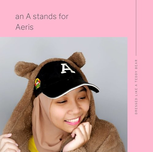 A stands for Aeris👍🙆‍♀️. Ready to @naturerepublic.id 💚 X @weareone.exo 💙 Fammeeting in Jakarta. Wanna know my outfit for the fanmeeting? I'm gonna upload it on my youtube channel😉. My Teddy Bear Jacket from @skyd.id and the KoKoBop enamel pin from @dhanandrea...#ClozetteID #exo #naturerepublicindonesia #exol #aeris #kpopfashion #kai #suho #chen #kartikakpopjourney #kpop  #exofanmeeting #koreangroup #kpopgroup #블로거 #얼짱  #라이프 #스타일 #블로거 #ライフスタイルブロガー #ブロガー #かわいい #旅行 #旅行ブロガー#여행 #여행자 #여행스타그램 #hunnyeo #훈녀