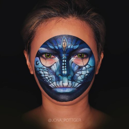 Recreated @amazing_jiro The Alien.  Product used : @morphebrushes x @jamescharles Palette @imagiccosmetics FacePaint palette 📸 @jpottger #Setterspace #clozetteid #theshonet #lookbookindonesia #indobeautygram #indobeautychannel #beautychannelid #indobeautysquad #bunnyneedsmakeup #ladybossjkt #bvvlogger #bloggirlsid #bloggervloggerindonesia  #jakartabeautyblogger #indobeautyblogger #ivgbeauty #channelbeautyindonesia #lemoninfluencerid #cchannel_beauty_id  #nusantaramood #100daysofmakeup  #Artmakeup #fantasymakeup  #videotutorial #beautymakeuplooks #dwiendahpusparini #tasyashoutoutfarasya  #facepaint