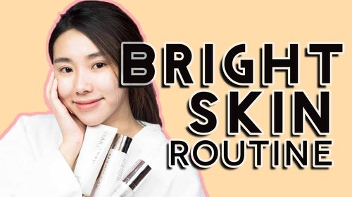 GIVEAWAY! BRIGHTENING SKINCARE ROUTINE ft. Mary Kay MelaCEP Plus+™ Luminous System - YouTube