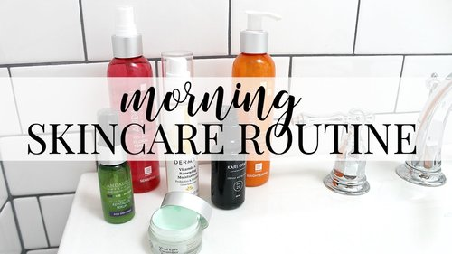 Morning Skincare Routine: Brightening | Kendra Atkins - YouTube
