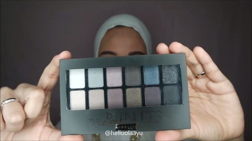 Maybelline the rock nudes eyeshadow - tutorial - ramadan series 😘 . . #tutorialmakeup #makeup #makeuptutorial #makeuphijab #hijaber #hijabermom #hijabersindonesia #clozetteid