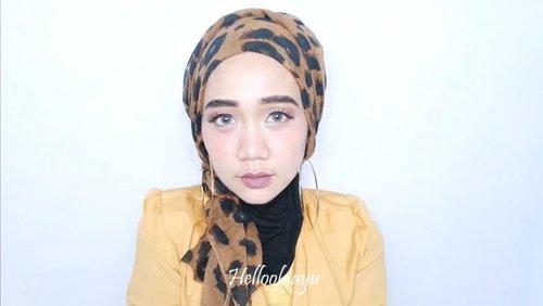 Tutorial turban loreng2 🐅..@tampilcantik @indobeautygram @indobeautysquad @benefitindonesia  @clozetteid #clozetteid @undiscovered_muas @beautybloggerindonesia  #beautybloggerindonesia #indobeautygram #indobeautyvlogger #tampilcantik #indobeautysquad #hijab #hijabers #makeuphijab #makeuptutorial #makeup #makeupblogger #lakme #clozetteid #beautyvlogger #beautyvloggerindonesia #undiscovered_muas #tutorialturban #turbantutorial #hijabtutorial #tutorialhijab #tutorialhijabsimple
