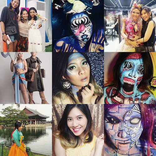 2017 you've been great!!! 😁😊 Thank you for every great moments & learn 💖 Yap, this is my top 9 😂👌. Lets be better on 2018 !! Keep moving 💖 Oh ya, thank you so much for all your supports 🙆🙆😘😘😘 i am really nothing, without youuu guys 😭😭💖🙇🙇 . HAPPY NEW YEAR 2018 🎉💖🎉 . . . . . . . .  #newyearseve #newyear  #beautybloggerindonesia #beauty #makeup  #beautyblogger #clozetter #indobeautygram #beautyvlogger #beautyvlog #makeup #makeupinspiration #featuremakeup #featureme #beautyinfluence #indonesia #makeupindonesia #indonesiamakeup #bloggermafia #beautyblogger #beautyvlogger #ivgbeauty #clozetteid #indobeautyinfluencer #indobeauty #bvloggerid #cosplayer #cosplay