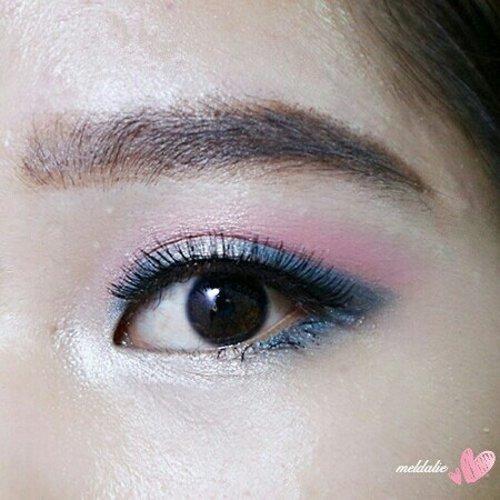 💝 . . . Recreate @deviennaaa  #clozetteid#eyeshadow#eyemakeup