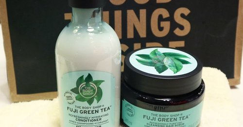 The Body Shop, Fuji Green Tea Hair Scrub & Conditioner Review