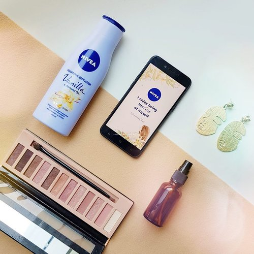 I enjoy being the best of myself with @nivea_id #SensationalTouch