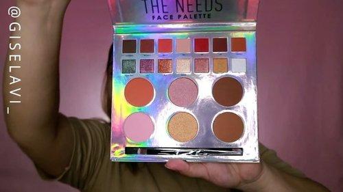 Udah pada nonton review ku tentang #ItsTheNeeds nya @tasyafarasya x @ars_fashion belom?Kalo belom linknya ada di bio aku ya! #GiselaVideo#tasyafarasyaxars #tasyafarasyaxfocallure ... .... #makeuptutorial  #makeupideas #indobeautygram #tutorialmakeup #indovidgram #bretmansvanity #undiscovered_mua #1minutemakeup #tampilcantik #beautychannelid #bunnyneedsmakeup #beautyvloggerid #ragamkecantikan @bretmansvanity @indobeautygram @indovidgram  @bunnyneedsmakeup @ragam_kecantikan @tampilcantik @undiscovered_muas @beautychannel.id #clozetteid