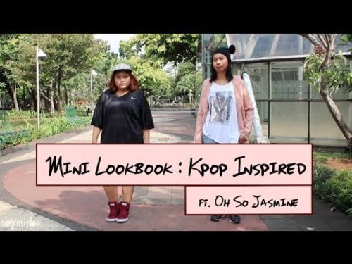 Mini Lookbook : Kpop Inspired Outfit ft. OhSoJasmine | anjanidee - YouTube