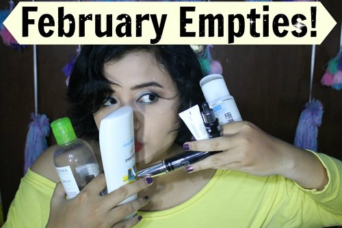 February Empties | anjanidee - YouTube