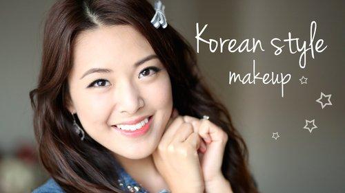 Korean Style Makeup Tutorial - YouTube