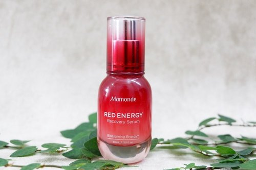Mamonde Red Energy Recovery Serum Review - Our Beauty Story